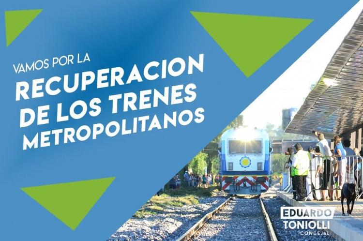 Solicitan una audiencia pública para avanzar en la recuperación de los trenes metropolitanos