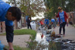 Jornada solidaria en el Barrio las Flores 2