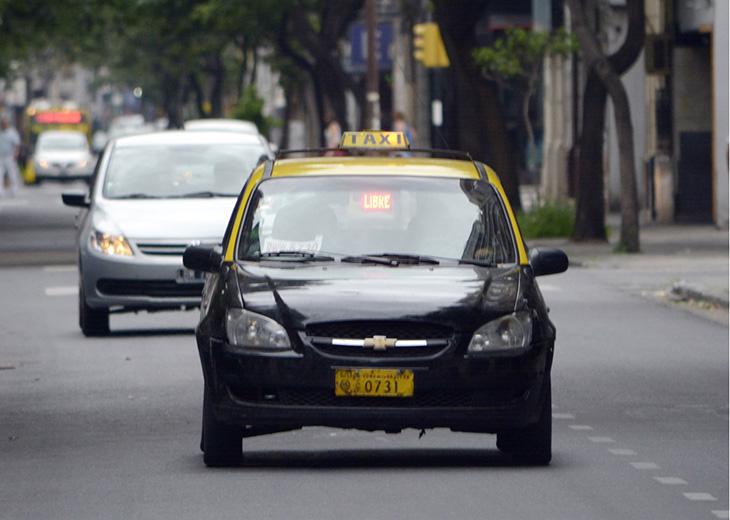 Aplicación de taxis para celulares