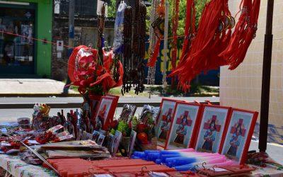 Festejos del Gauchito Gil en Barrio de La Carne