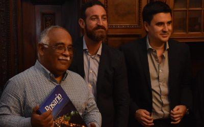 Recibimos al Embajador Venezolano