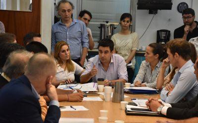 La Comisión de Producción del Concejo Municipal recibió a comerciantes y vecinos del Casco Histórico