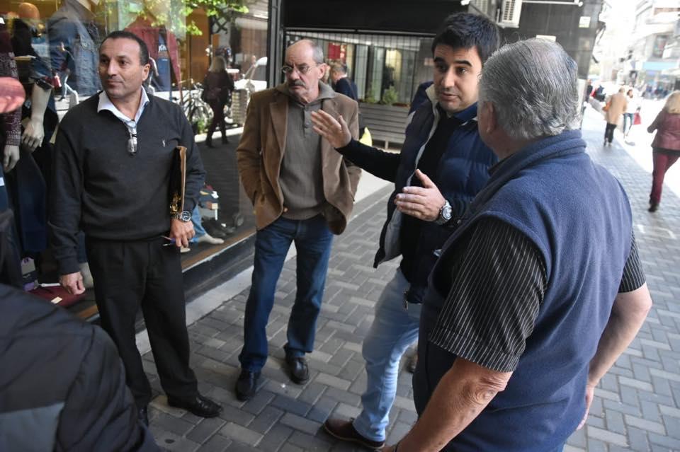 Las Galerías Libertad y Rosario se inundan por defectos en las obras de calle Sarmiento