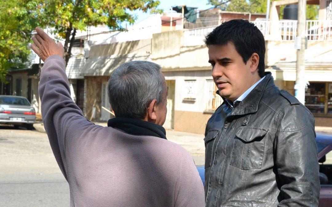 Buscan que el proceso de urbanización del Bajo Saladillo cuente con mano de obra de los vecinos