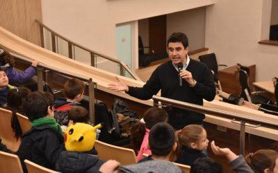 La Mariano Moreno visitó el Concejo Municipal