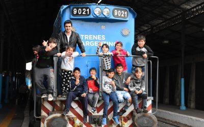 Luego de 30 años un tren de pasajeros volvió a comunicar Rosario con Pérez