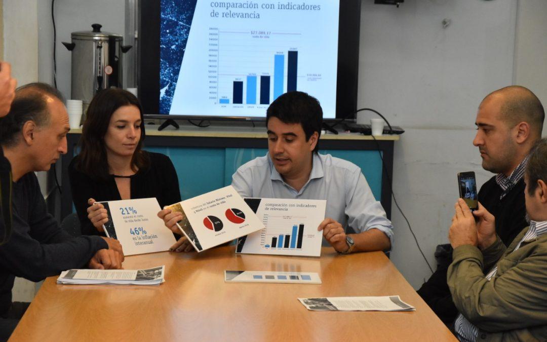 El costo de vida en Rosario llegó en septiembre a $27.089