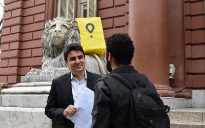 Toniolli denunció a Glovo y a Rappi