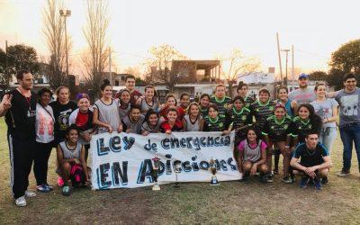 Final de fútbol femenino entre Tío Rolo y Acindar