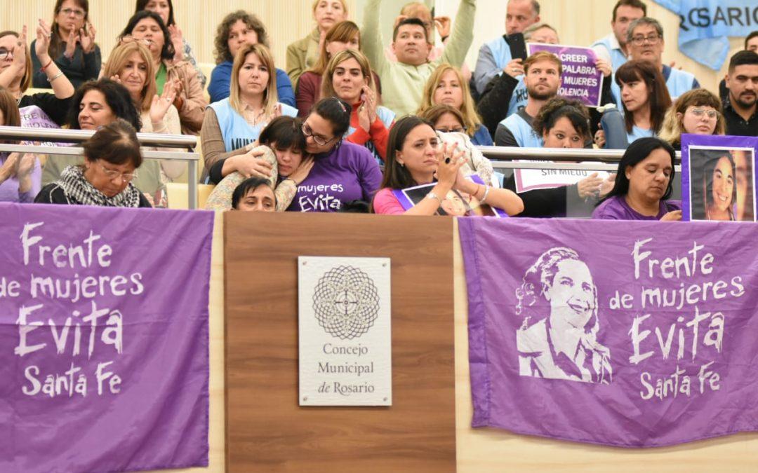 El Concejo Municipal aprobó la adhesión de Rosario a la Ley Micaela García