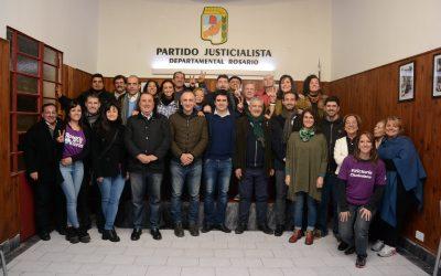 El PJ reunió a todas sus listas de candidatos a concejales
