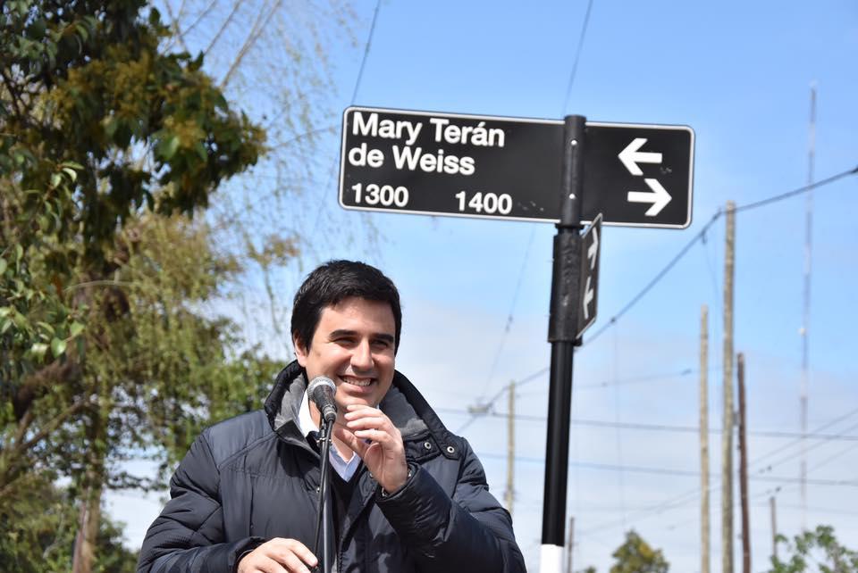 Homenaje a la tenista rosarina Mary Terán de Weiss: una calle llevará su nombre