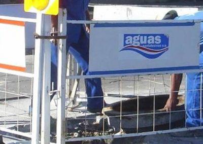 Tendido eléctrico y provisión de agua potable en Barrio Alvear