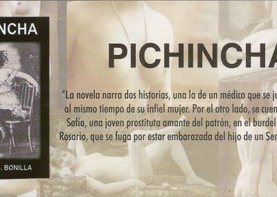 "Declaración de interés municipal de ""Pichincha"" de Carlos E. Bonilla"