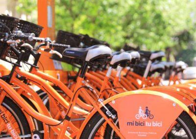 Reducción de tarifas en las bicicletas públicas