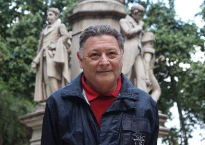 """Declaración de interés municipal de """"El Hombre de la Bicicleta"""", de Edilio Quiroga"""
