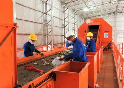 Informe sobre los Centros de Recuperación de Residuos