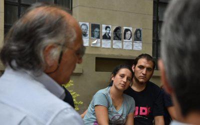Homenaje a las compañeras y compañeros desaparecidos de la Facultad de Ingeniería