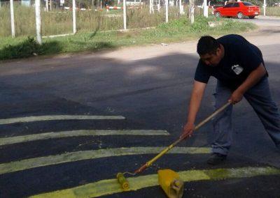 Retardadores de velocidad en Av. M. Cisnero