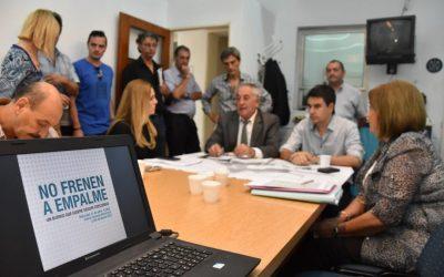 """El Concejo Municipal aprobó la iniciativa """"no frenen a empalme"""""""