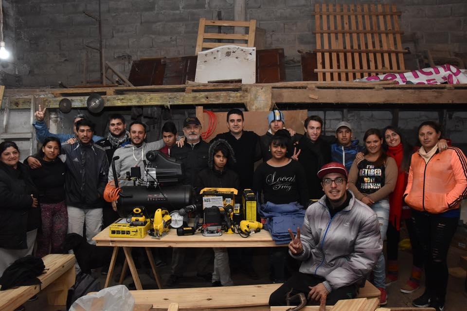 Barrio Saladillo: Trabajo y organización comunitaria