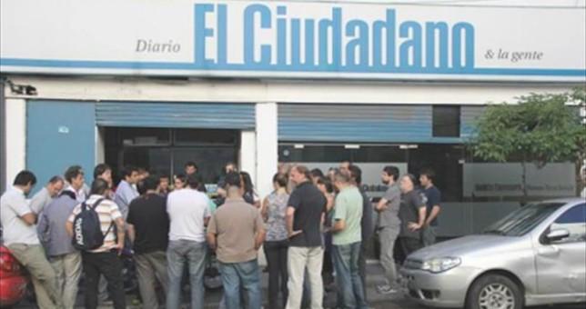 Apoyo a la cooperativa del diario El Ciudadano