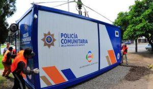 policia comunitaria santa fe rosario