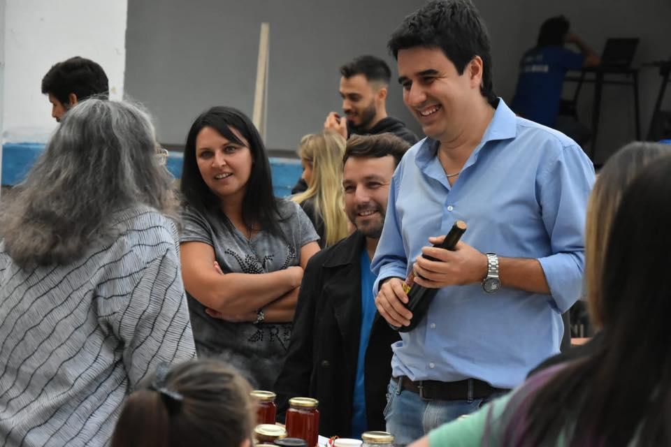 Feria en el Club San Martín