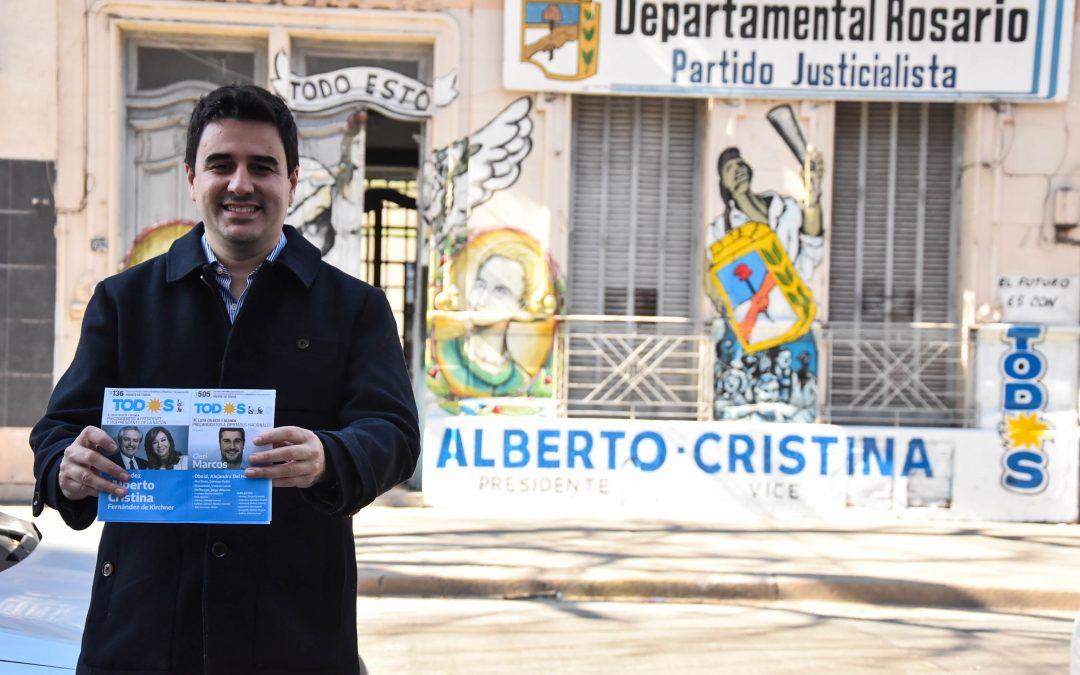 El PJ Rosario lanza una campaña de afiliación