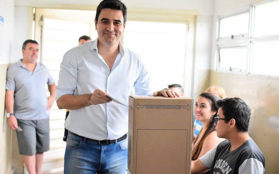 """Toniolli: """"Votamos con esperanza en lo que viene"""""""