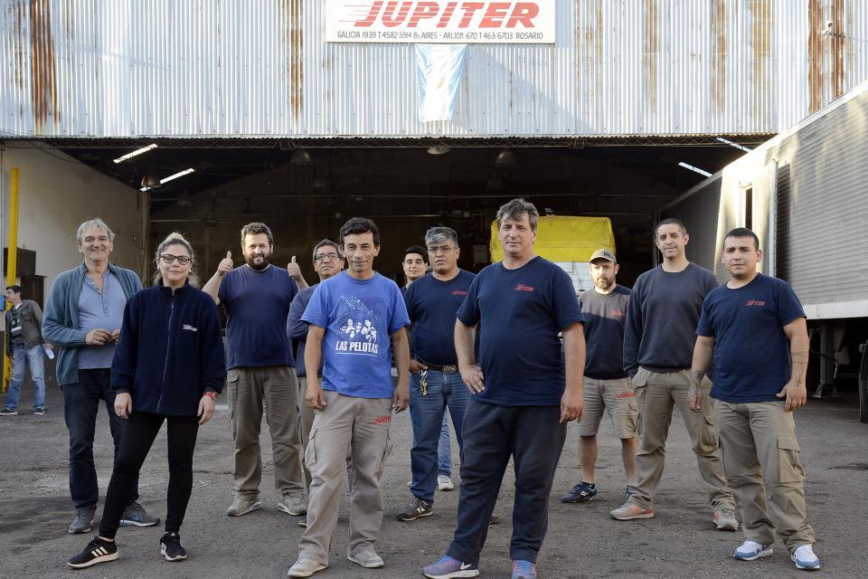 El Concejo Municipal mostró su apoyo a los trabajadores de Expreso Júpiter