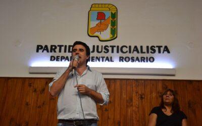 """""""Los sectores populares pueden depositar su esperanza en nuestro proyecto político"""""""
