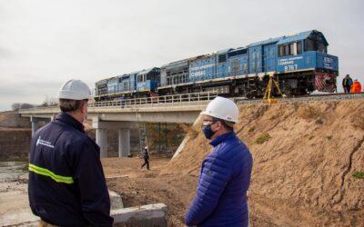 """Toniolli: """"Celebramos el impulso que Nación y Provincia le dan al transporte ferroviario"""""""